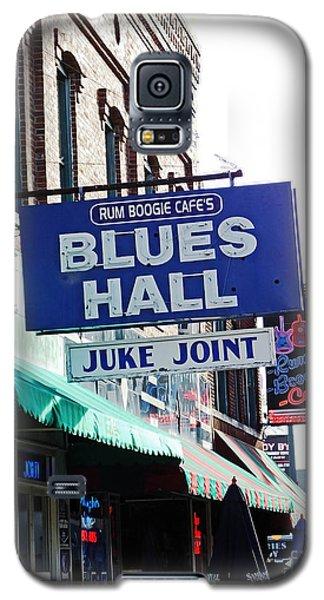Rum Boogie Blues Hall Beale St Memphis Galaxy S5 Case