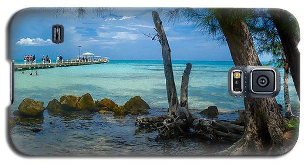 Rum Point Pier Galaxy S5 Case by Gordon Engebretson