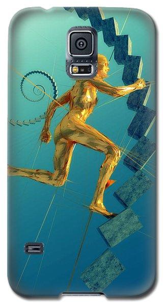 Run 051414 Galaxy S5 Case by Matt Lindley