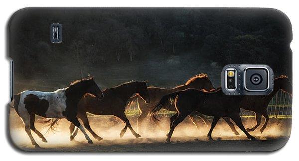Running Galaxy S5 Case by Ana V Ramirez