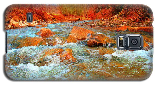 Running Creek 2 By Christopher Shellhammer Galaxy S5 Case