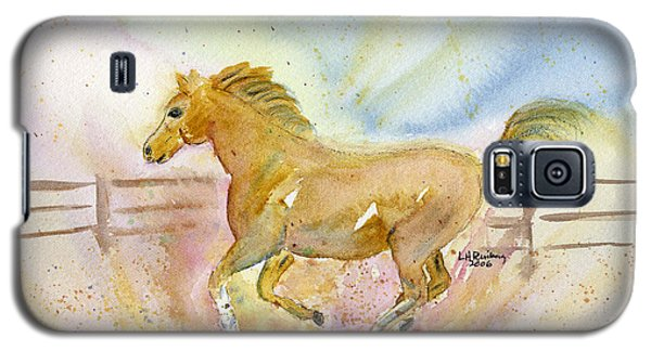 Running Horse Galaxy S5 Case