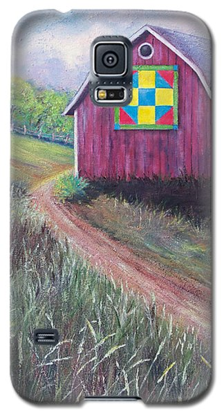 Galaxy S5 Case featuring the painting Rural America's Gift by Susan DeLain