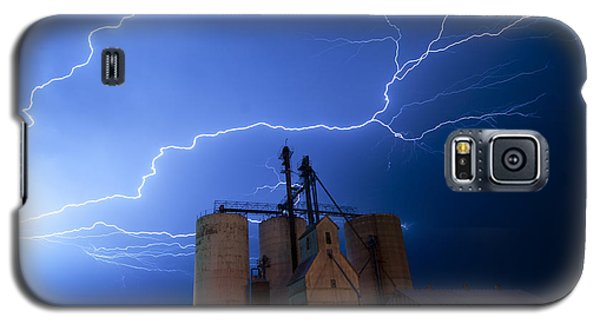 Rural Lightning Storm Galaxy S5 Case