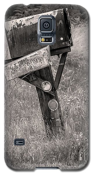 Galaxy S5 Case featuring the photograph Rural Route Mail Call  by Jean OKeeffe Macro Abundance Art