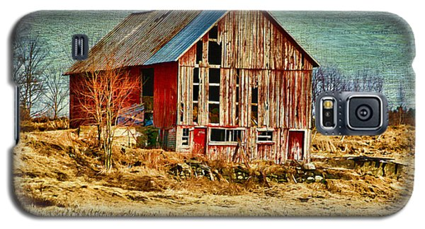Rural Rustic Vermont Scene Galaxy S5 Case