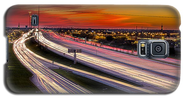 Rush Hour On 59 Galaxy S5 Case by Micah Goff