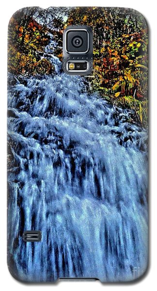 Rushing Falls Galaxy S5 Case by Andy Heavens