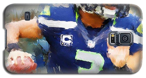 Sport Galaxy S5 Case - Russell Wilson by Lourry Legarde
