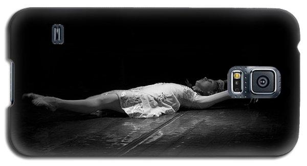 Russian Ballerina As A Melting Snowflake. Galaxy S5 Case