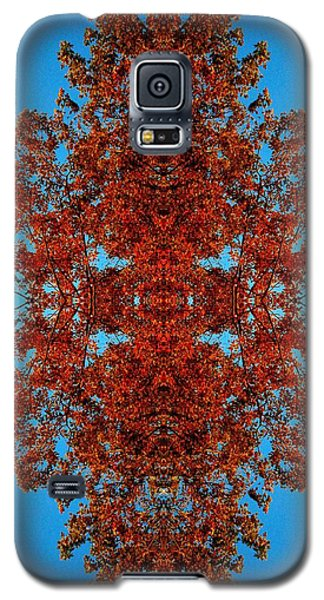 Galaxy S5 Case featuring the photograph Rust And Sky 4 - Abstract Art Photo by Marianne Dow
