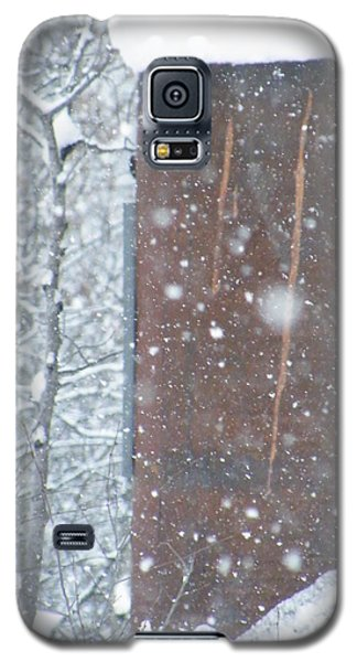 Rust Not Sleeping In The Snow Galaxy S5 Case by Brian Boyle