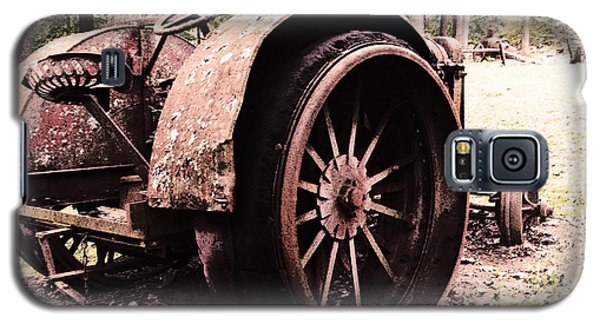 Rusted Big Wheels Galaxy S5 Case