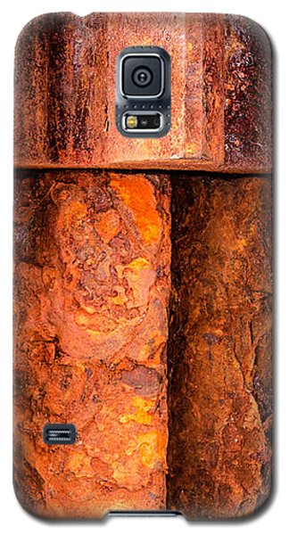 Rusted Gears  Galaxy S5 Case
