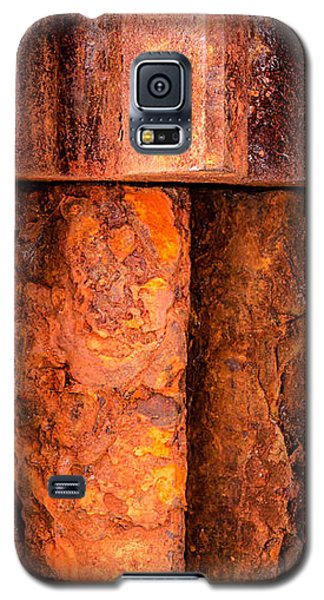 Rusted Gears  Galaxy S5 Case by Jim Hughes