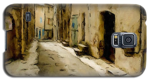 Galaxy S5 Case featuring the painting Rustic Alley by Wayne Pascall