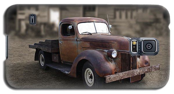 Galaxy S5 Case featuring the photograph Rustic Ford Truck by Keith Hawley