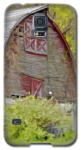 Rustic Red Barn II Galaxy S5 Case