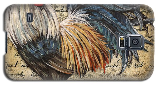 Rustic Rooster-jp2119 Galaxy S5 Case by Jean Plout