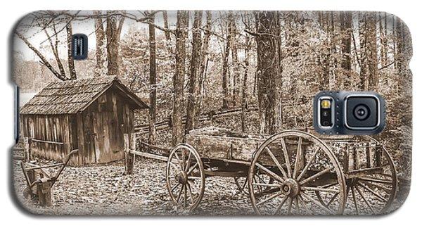 Rustic Wagon Galaxy S5 Case
