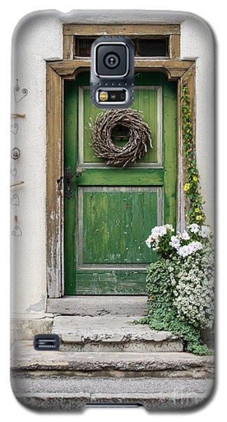 Rustic Wooden Village Door - Austria Galaxy S5 Case