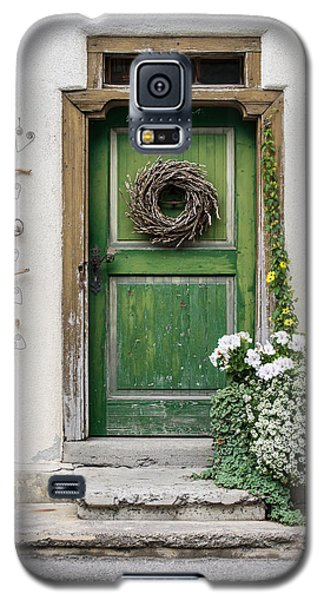 Rustic Wooden Village Door - Austria Galaxy S5 Case