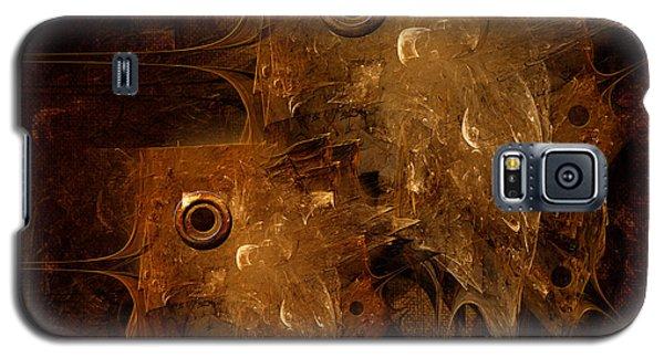 Galaxy S5 Case featuring the digital art Rusty by Alexa Szlavics