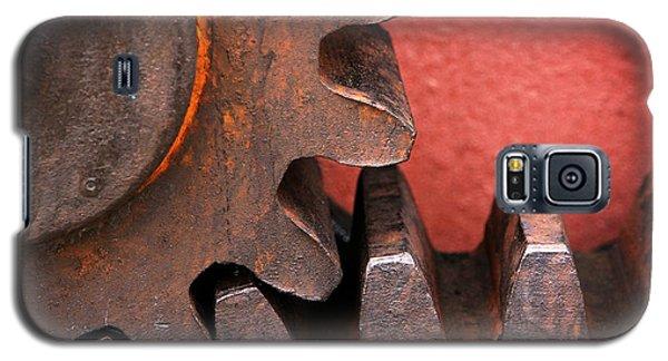 Rusty And Metallic Gear Wheel Galaxy S5 Case