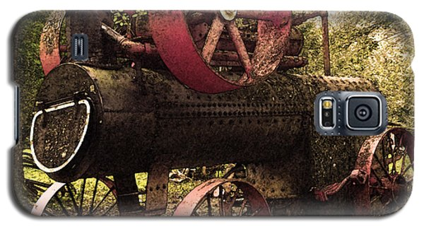 Rusty Antique Steam Engine Galaxy S5 Case