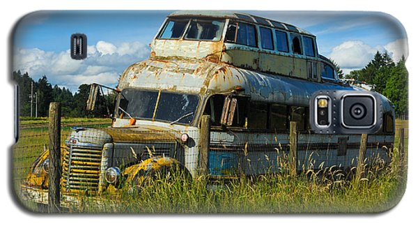 Galaxy S5 Case featuring the photograph Rusty Bus by Crystal Hoeveler