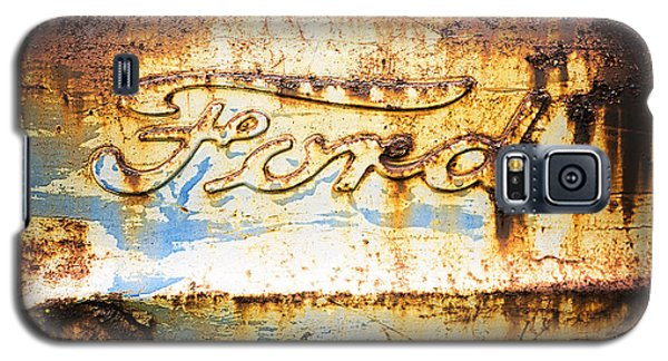 Rusty Old Ford Closeup Galaxy S5 Case
