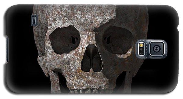 Rusty Old Skull Galaxy S5 Case