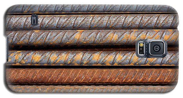 Rusty Rebar Rods Metallic Pattern Galaxy S5 Case