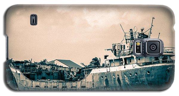 Rusty Ship Galaxy S5 Case