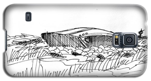 Rusty Shipwreck 1998 Galaxy S5 Case