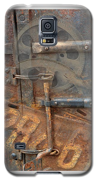 Galaxy S5 Case featuring the photograph Rusty Stuff Montage by Bob Salo