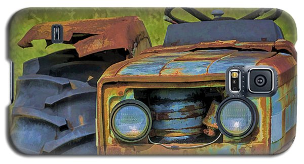 Rusty Tractor Galaxy S5 Case by Lewis Mann