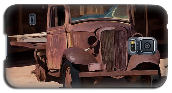 Rusty Truck 04 Galaxy S5 Case by Wally Hampton