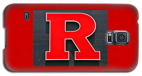 Rutgers Block R Galaxy S5 Case by Allen Beatty