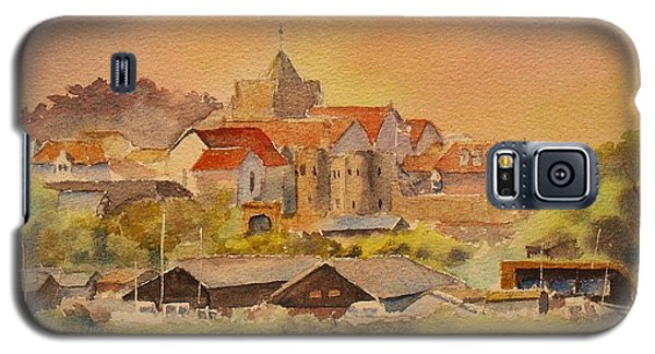 Galaxy S5 Case featuring the painting Rye East Sussex Uk by Beatrice Cloake