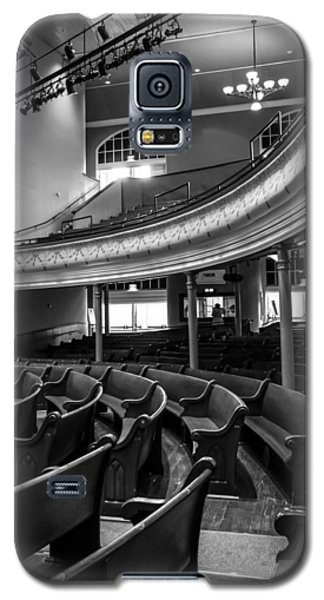 Ryman Auditorium Pews Galaxy S5 Case
