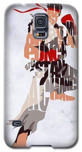 Ryu - Street Fighter Galaxy S5 Case