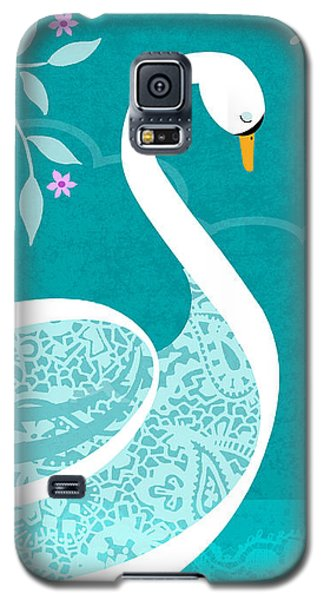 S Is For Swan Galaxy S5 Case