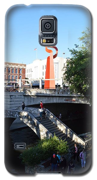 Galaxy S5 Case featuring the photograph Sa River Walk by Shawn Marlow