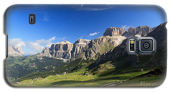 Saas Pordoi And Fassa Valley Galaxy S5 Case