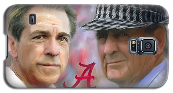 Florida State Galaxy S5 Case - Saban And Bear by Mark Spears
