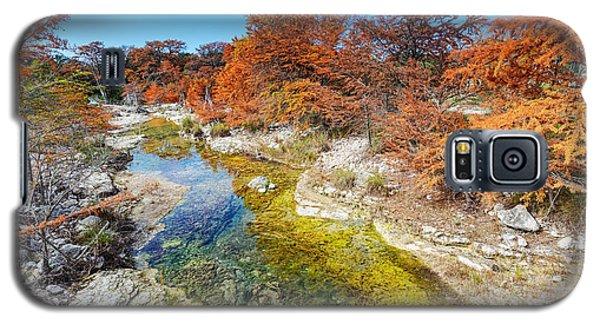 Sabinal River Magic Utopia Texas Hill Country Galaxy S5 Case