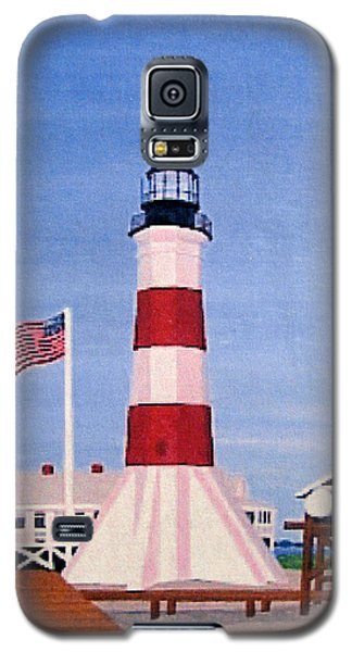 Sabine Pass Lighthouse Galaxy S5 Case by Frederic Kohli