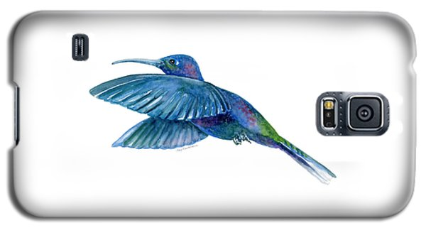 Sabrewing Hummingbird Galaxy S5 Case by Amy Kirkpatrick
