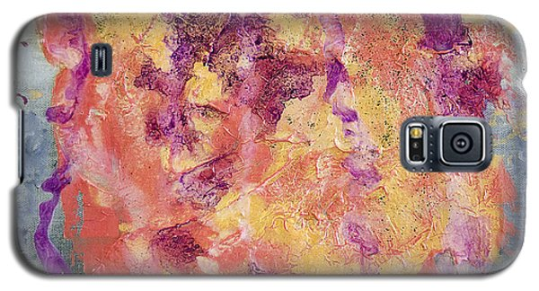Galaxy S5 Case featuring the painting Saccharide by Ron Richard Baviello